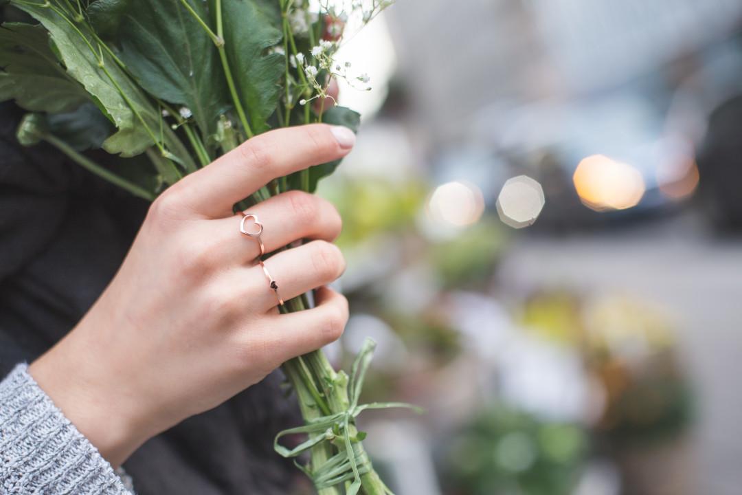 Annalaurakummer, Anna-Laura Kummer, Delicate Hearts, Stilnest, Schmuckkollektion, Ringe, Herz, Blumen, FEO, Blogger, Österreich