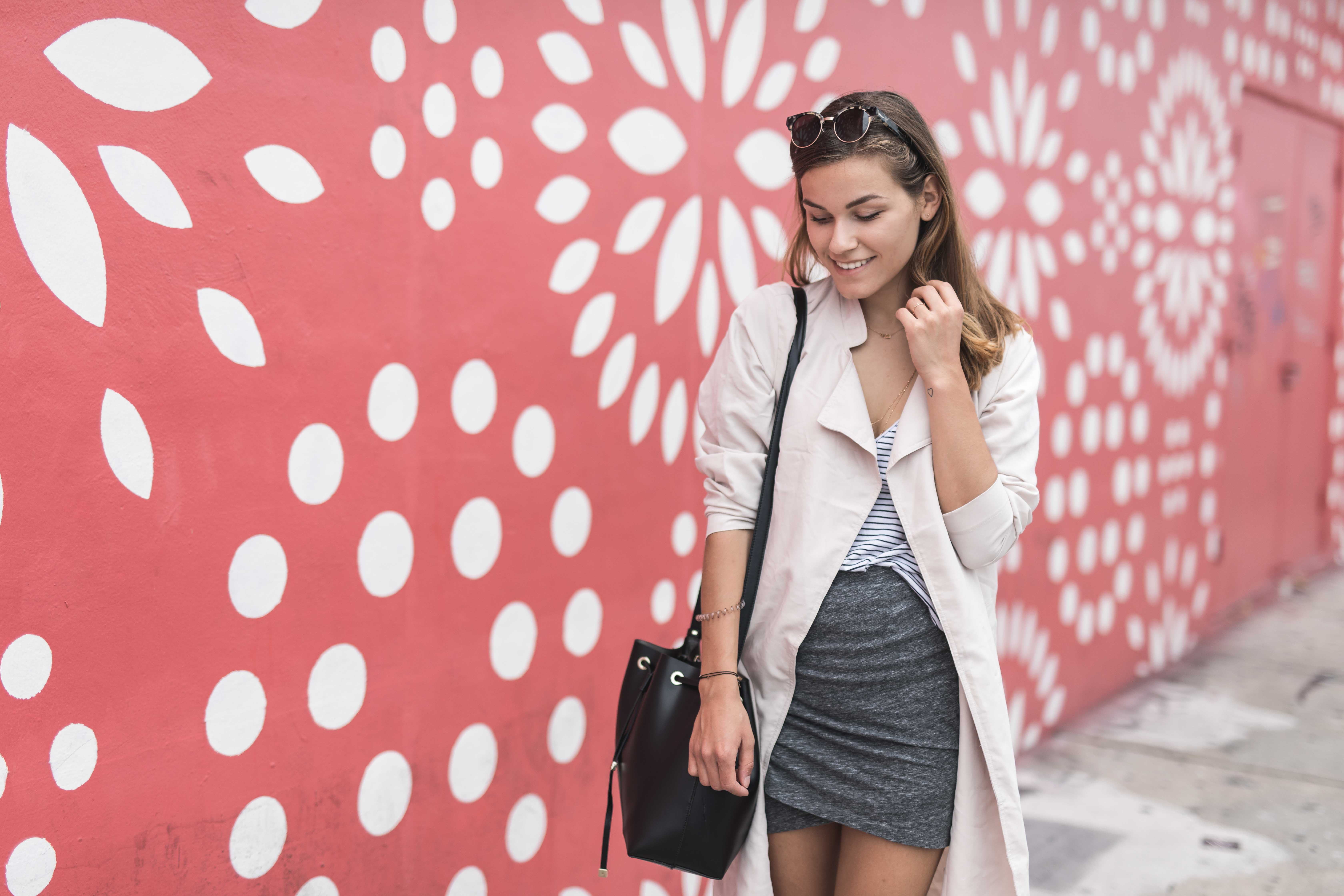 OUTFIT: A Pop of Color in Wynwood