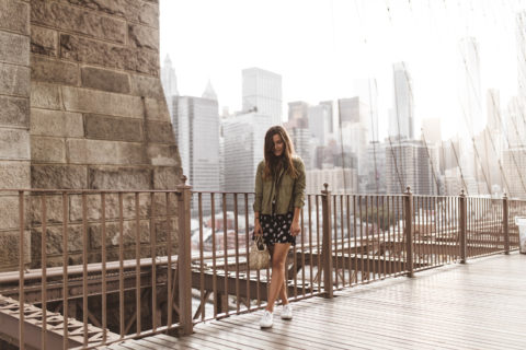 annalaurakummer, new york, brooklyn, bridge, faithfull, dress
