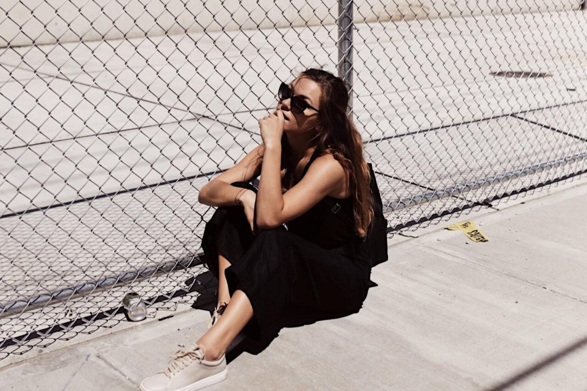 annalaurakummer, outfit, fair fashion, black, red hook, new york